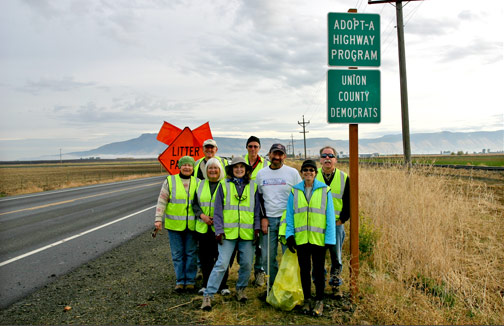 Adopt-A-Highway Crew